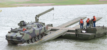 Amphibious Assault Bridge (SYHK) Durability Test
