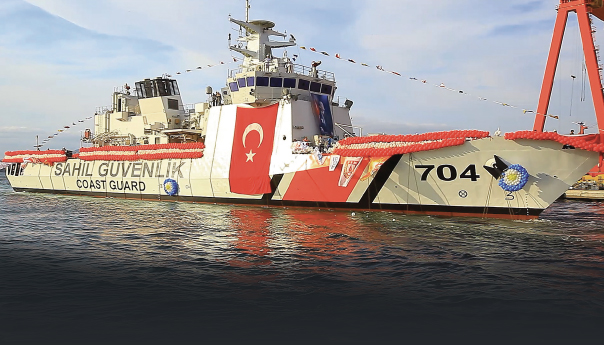 """The Fourth And Final Search and Rescue Vessel Named """"TCSG YAŞAM"""" Constructed by RMK Marine was Launched"""