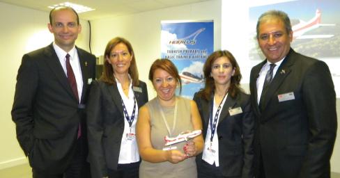 HÜRKUŞ in FARNBOROUGH Airshow