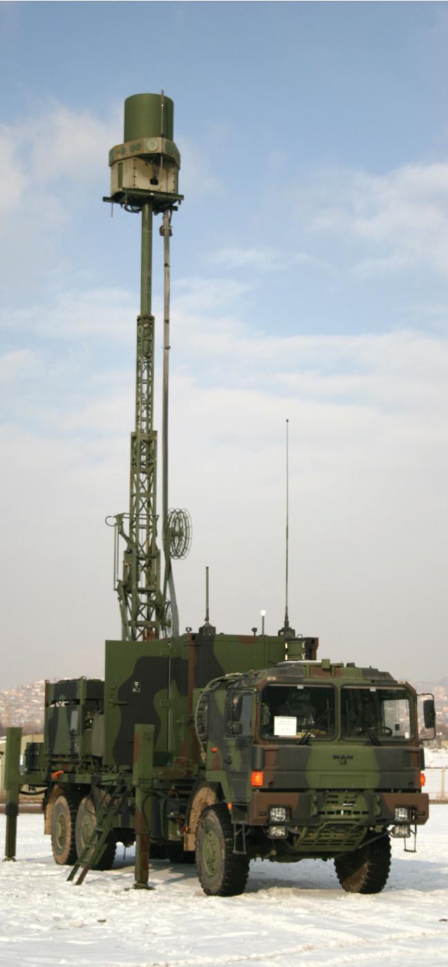 Radar and Electronic Warfare in Land Platforms