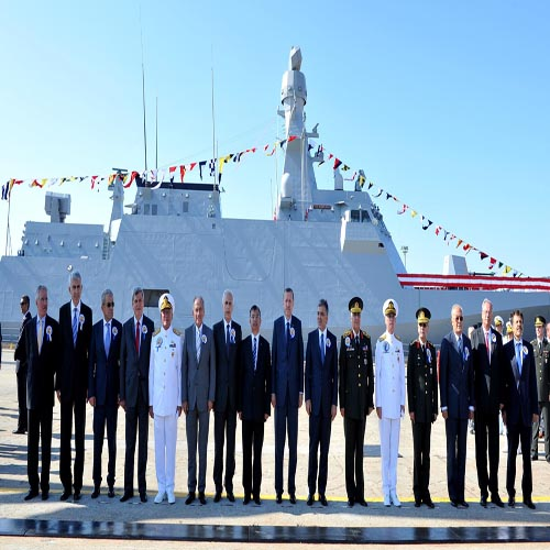 HEYBELIADA ENTERS THE INVENTORY OF THE NAVAL FORCES COMMAND