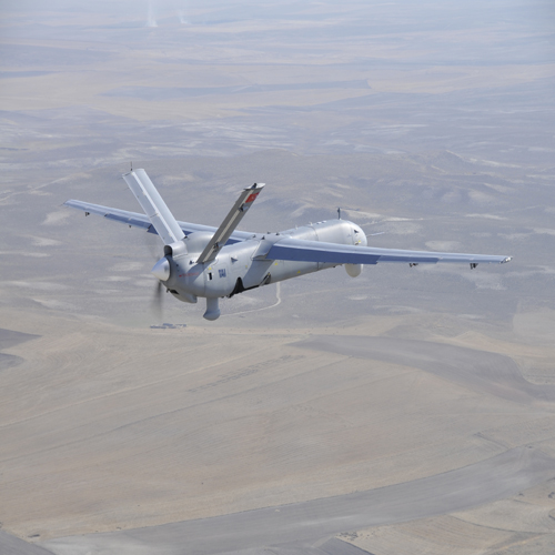 "TURKISH MALE UAV ""ANKA"" SUCCESSFULLY CONTINUES TEST FLIGHTS"