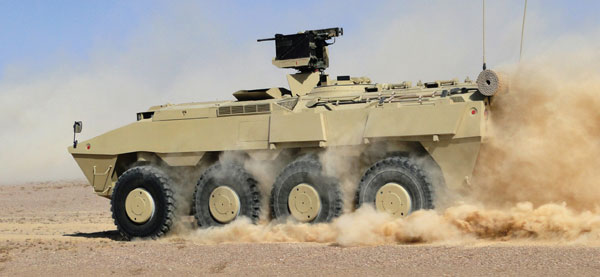 Pars 8x8 WAV with SARP 12.7mm RWS Featured its Capabilities Beyond the Borders