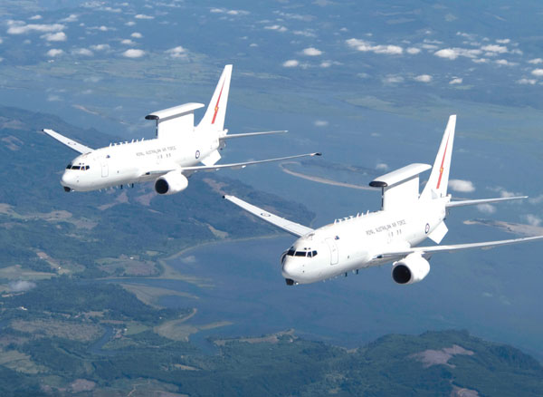 Boeing's Final Design for Wedgetail AEW&C Airborne Mission Segment Accepted by Australia