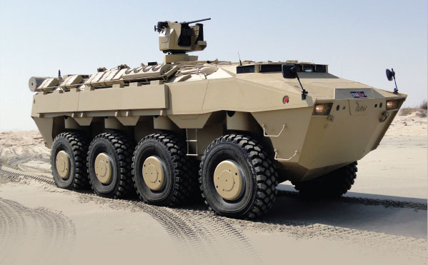 PARS Wheeled Armored Combat Vehicles
