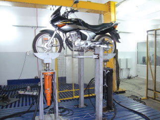 Bias Demonstrates  Vehicle Test System for Accelerated Durability Testing