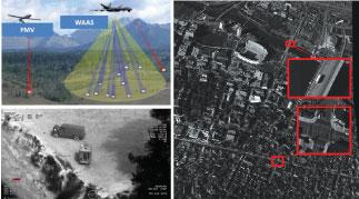 Wide Area Airborne Surveillance by ESEN