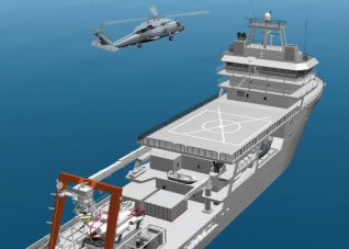 Yenel will Make an Interface Unit for the Helicopter Platform Camera System that will be Used on the Submarine Rescue Mothership Namely MOSHIP
