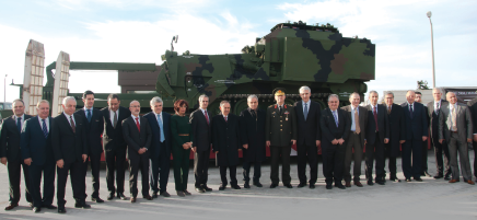 Amphibious Armoured Combat Earthmover Vehicles (AZMIM) was Delivered to Turkish Armed Forces