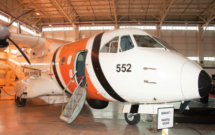 The First Maritime Surveillance Aircraft was Delivered to Turkish Coast Guard