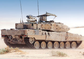 Krauss-Maffei Wegmann Supports Qatar's Army Modernization