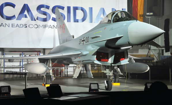 Cassidian delivers 100 th Eurofighter to the German Air Force