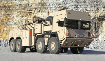 Denmark Orders Heavy Tactical Recovery Vehicles from RMMV