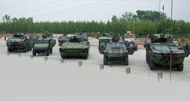 Three New Armoured Tactical Vehicles by Otokar