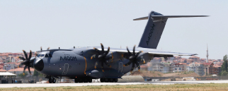 Airbus Military Demonstrates A400M in Turkey