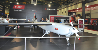 Karayel the First National Unmanned Air Vehicle of Vestel Defence Displayed at IDEF for the First Time