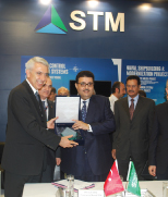 Atheeb Group Of Saudi Arabia and STM  signed MoU in IDEF