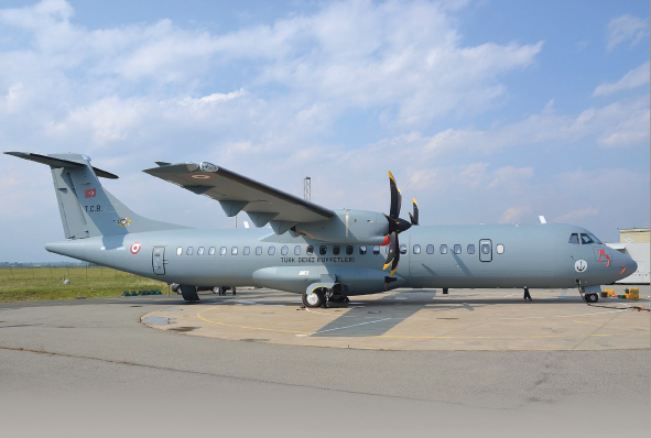 First ATR72-600 TMUA Delivered to Turkish Navy