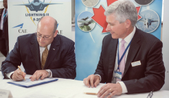 Lockheed Martin, CAE Establish Canadian Training Alliance for the F-35 Lightning II