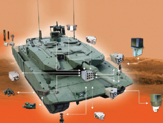 Increased Performance and Enhanced Service Life Solution for Leopard 2A4