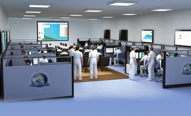 Naval Wargame Simulation System from Meteksan