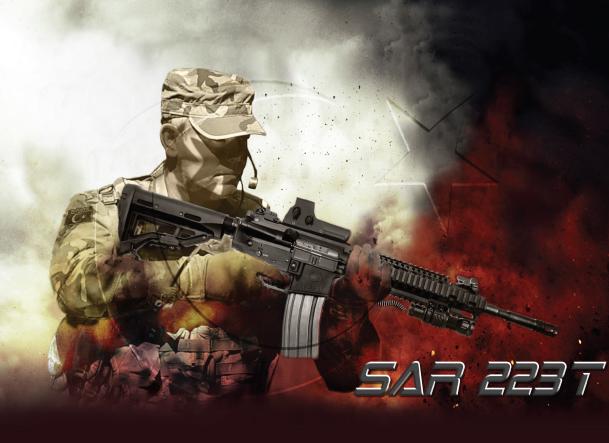 Sar 223 Assault Rifle By Sarsılmaz