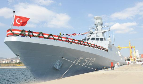 "Turkish Naval Forces Fleet Strenghtened with F-512 ""Büyükada"""