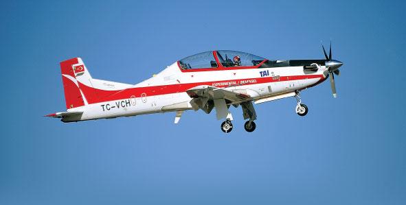 Turkish Basic Trainer Aircraft Hürkuş Accomplishes the Maiden Flight