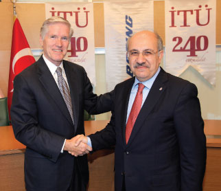 Boeing and Istanbul Technical University Launch a Scholarship Program for Students and Academicians