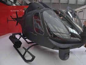 """Solo"" SW-4 Rotary Unmanned Air System (RUAS) was Displayed at MSPO 2013"