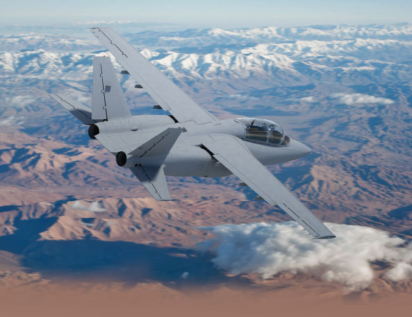 Textron AirLand Introduces Scorpion ISR/Strike Aircraft