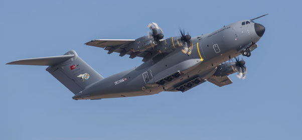 First Airbus Military A400M for Turkish Air Force Makes Maiden Flight