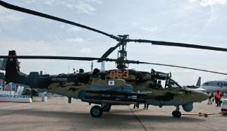 Kamov and Sagem Team up on Ka-52 Alligator Attack Helicopter