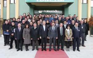 """Roketsan Volunteers Continue the """"Vocational High School Training Coach Project"""""""