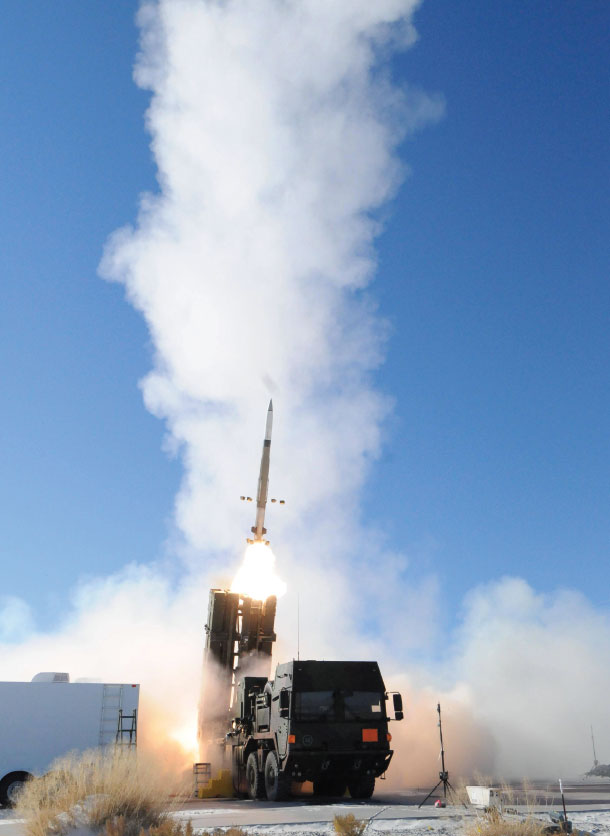 Unprecedented Dual Intercept Success for Meads at White Sands Missile Range