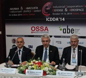 Defence and Aerospace Giants Meeting in Ankara ICDDA '14