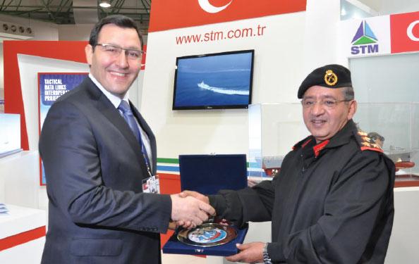 STM at GDA 2013 International Defence Exhibition