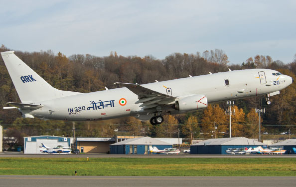Boeing Delivered 2nd and 3rd P-8I Maritime Patrol Aircraft to Indian Navy