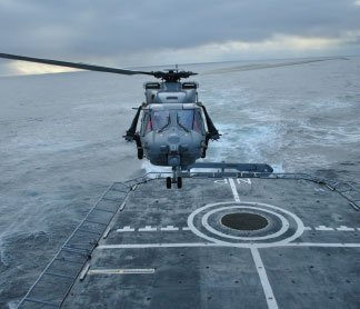 Italian Navy Receives First NH90 NFH in FOC