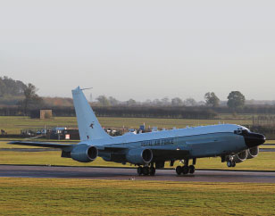 First Rivet Joint Aircraft Delivered to the UK