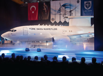 TAF Shows Off First Peace Eagle Aircraft