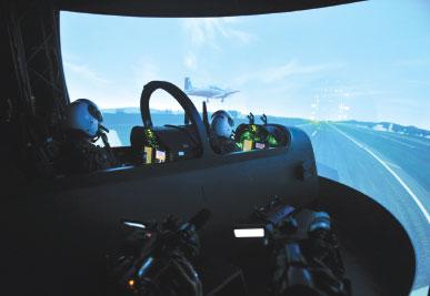 TAF Progresses State-of-Art Simulation Systems