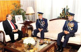 President of Pakistan Confers Nishan-I-Imtiaz (Military) Upon General Akın Özturk, Commander Turkish Air Force
