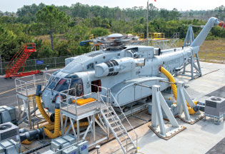 Sikorsky Began Safety of Flight Tests on First Prototype CH-53K Helicopter