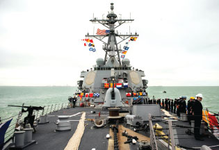 Europe's Missile Shield Grows with the USS Donald Cook Destroyer
