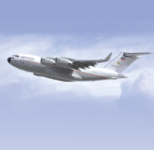 Boeing Delivered Kuwait Air Force's 1st C-17 Globemaster III