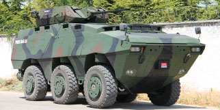 PARS 6x6 Wheeled Armored Combat Vehicle
