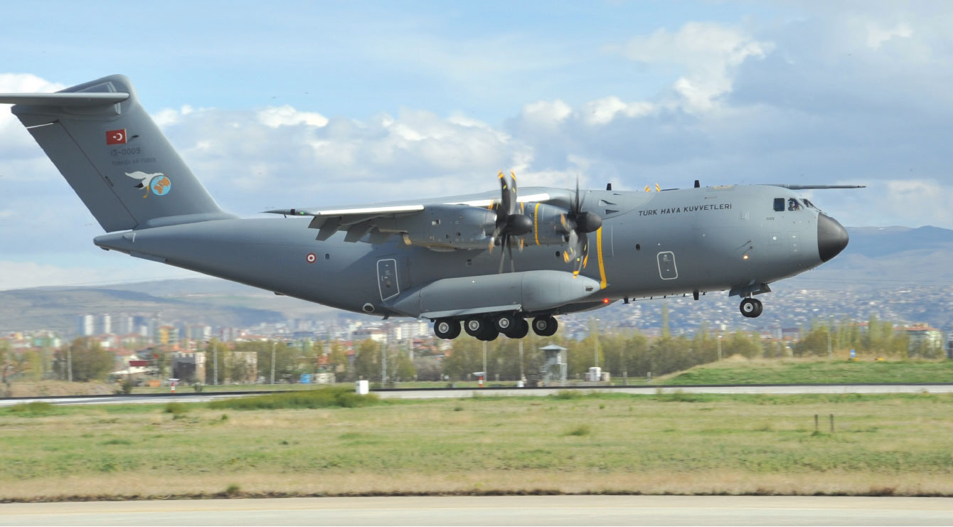 """A400M """"Atlas"""" in Turkish Air Forces' Inventory"""