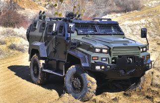 "Nurol Makina Unveils New Design of ""Yalçın"" Ejder 4x4"