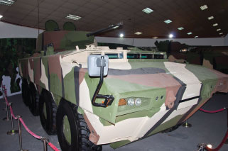 FNSS AV8 was Displayed First Time in DSA 2014